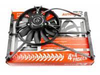 """Электровентилятор УАЗ (дополнительный) инжекторный двигатель с монтажным комплектом """"Autogur73"""""""
