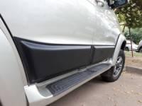 Молдинги дверей нижние на УАЗ Патриот (к-т 4 шт.)