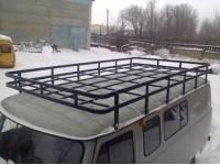 Багажник Экспедиция на УАЗ 452 (12 опор)
