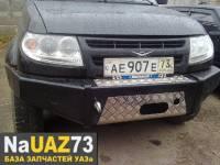 Бампер передний на УАЗ Патриот «РЫСЬ»