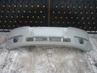 Силовой передний бампер на УАЗ Патриот