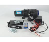 Лебедка электрическая 12V Electric Winch 5000lbs / 2268 кг с кевларовым тросом